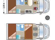 Sun Driver T590 met Dwarsbed